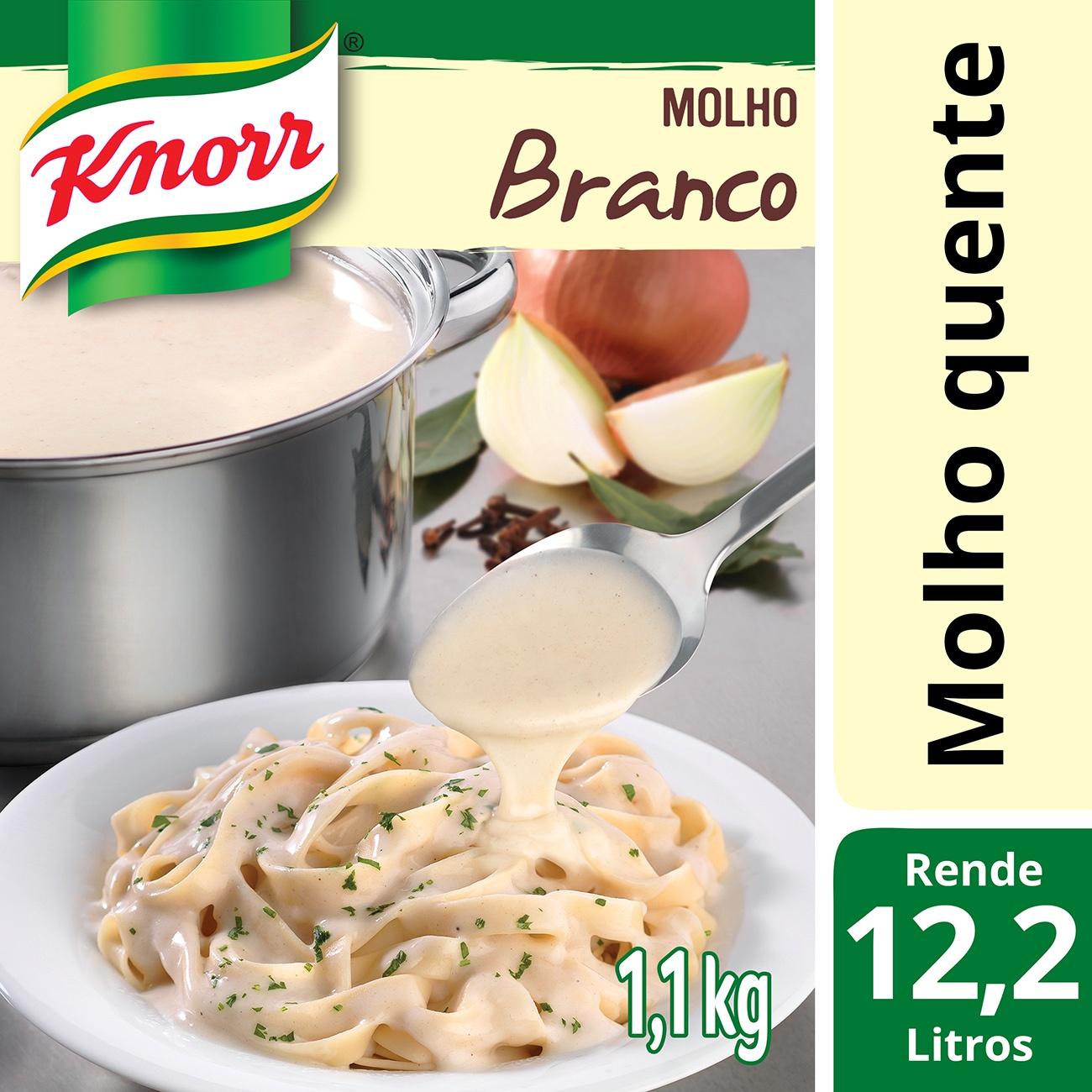 Molho Branco Bechamel Knorr 1,1 kg