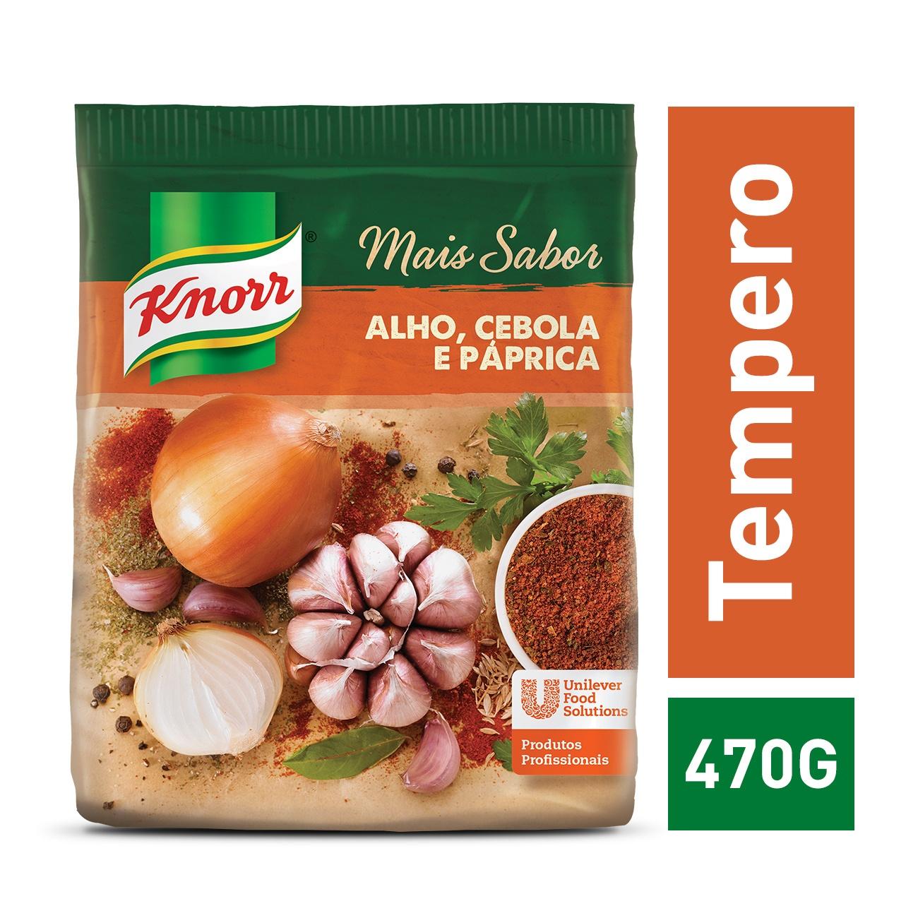 Tempero Knorr Mais Sabor P�prica 470g