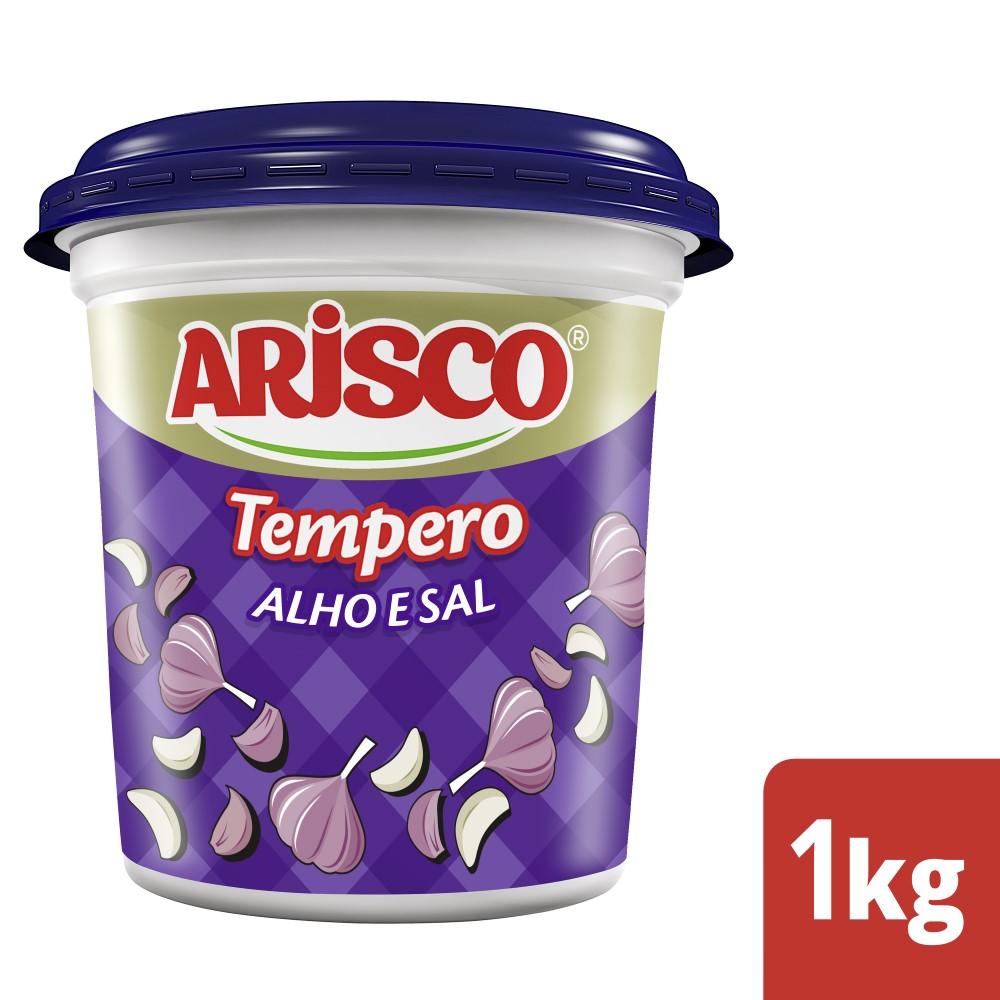 Tempero Completo Alho e Sal Arisco 1kg