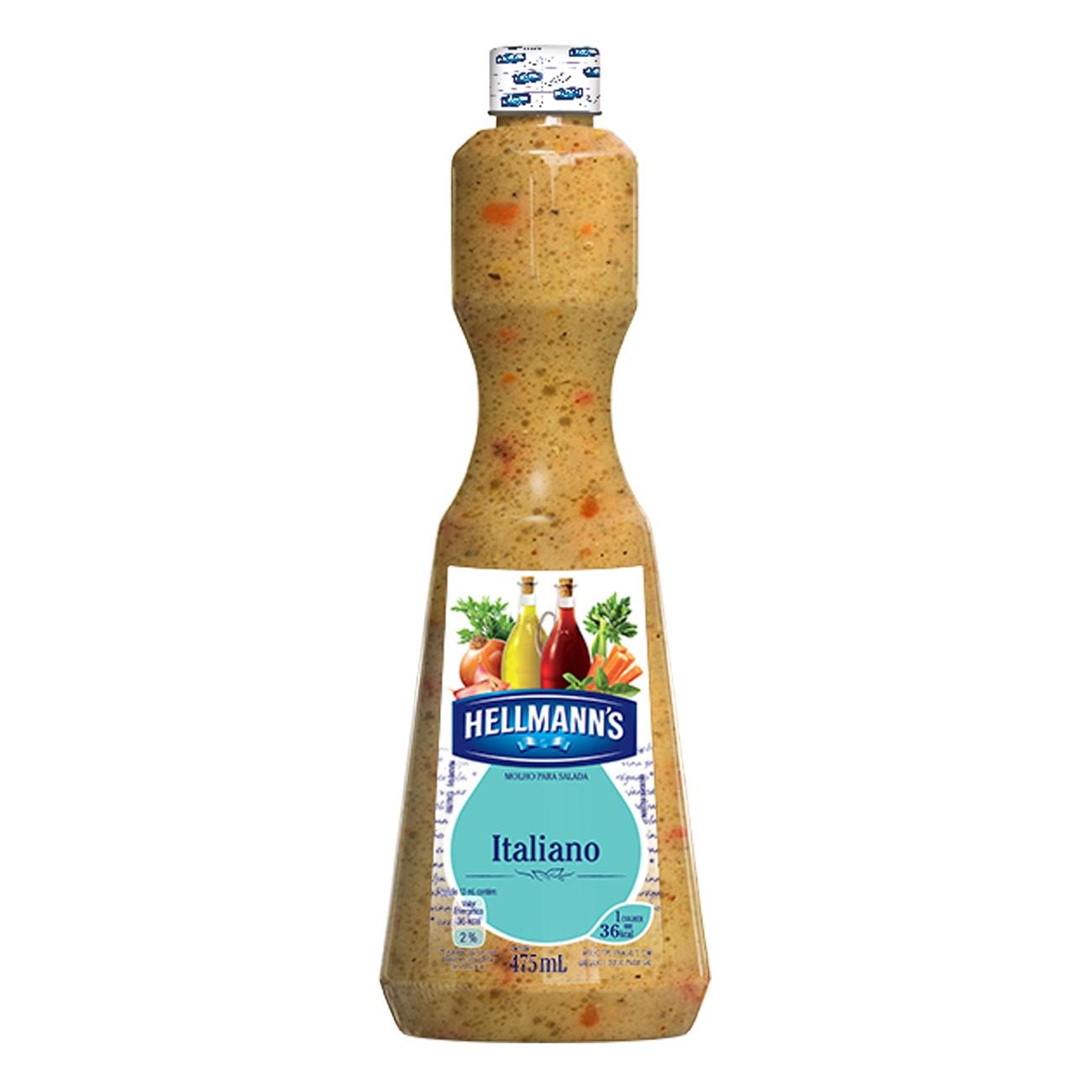 Molho Para Salada Hellmann's Italiano 475ml