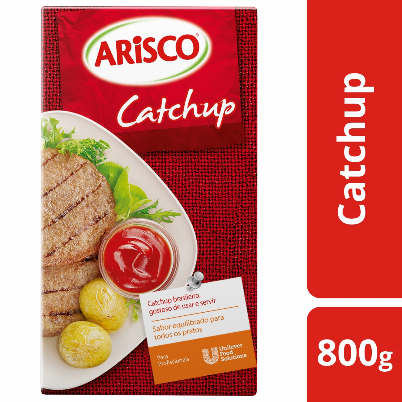 Catchup Arisco Tetra Pack 1,16kg